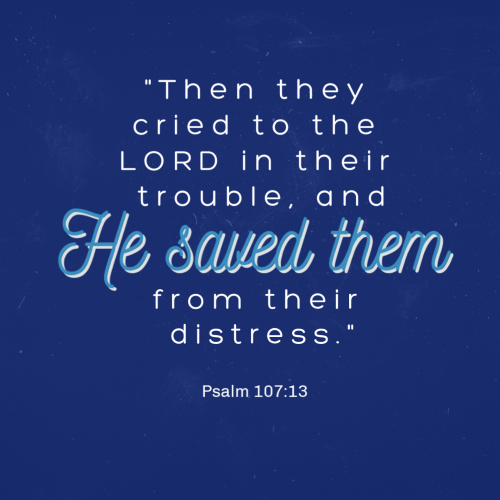 12 So he subjected them to bitter labor; they stumbled, and there was no one to help. 13 Then they cried to the LORD in their trouble, and he saved them from their distress.