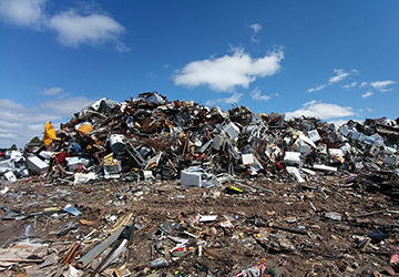 Challenges posed by electronic waste