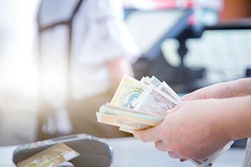 Ensure safe ways to accept cash payment