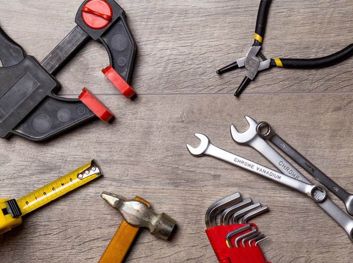 Clamping and Cutting Industrial Tools