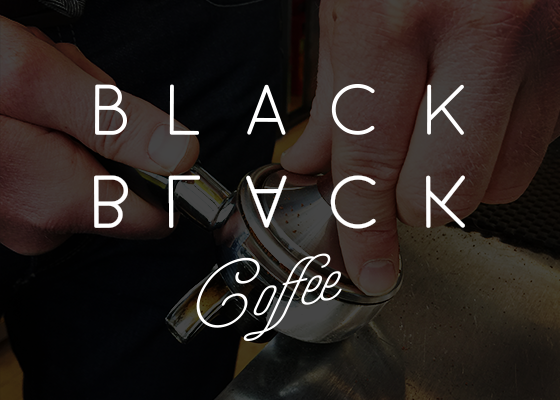 Black Black Coffee Branding