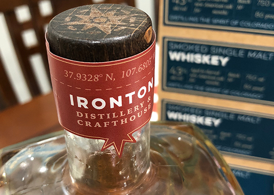 Ironton Distillery & Crafthouse Packaging