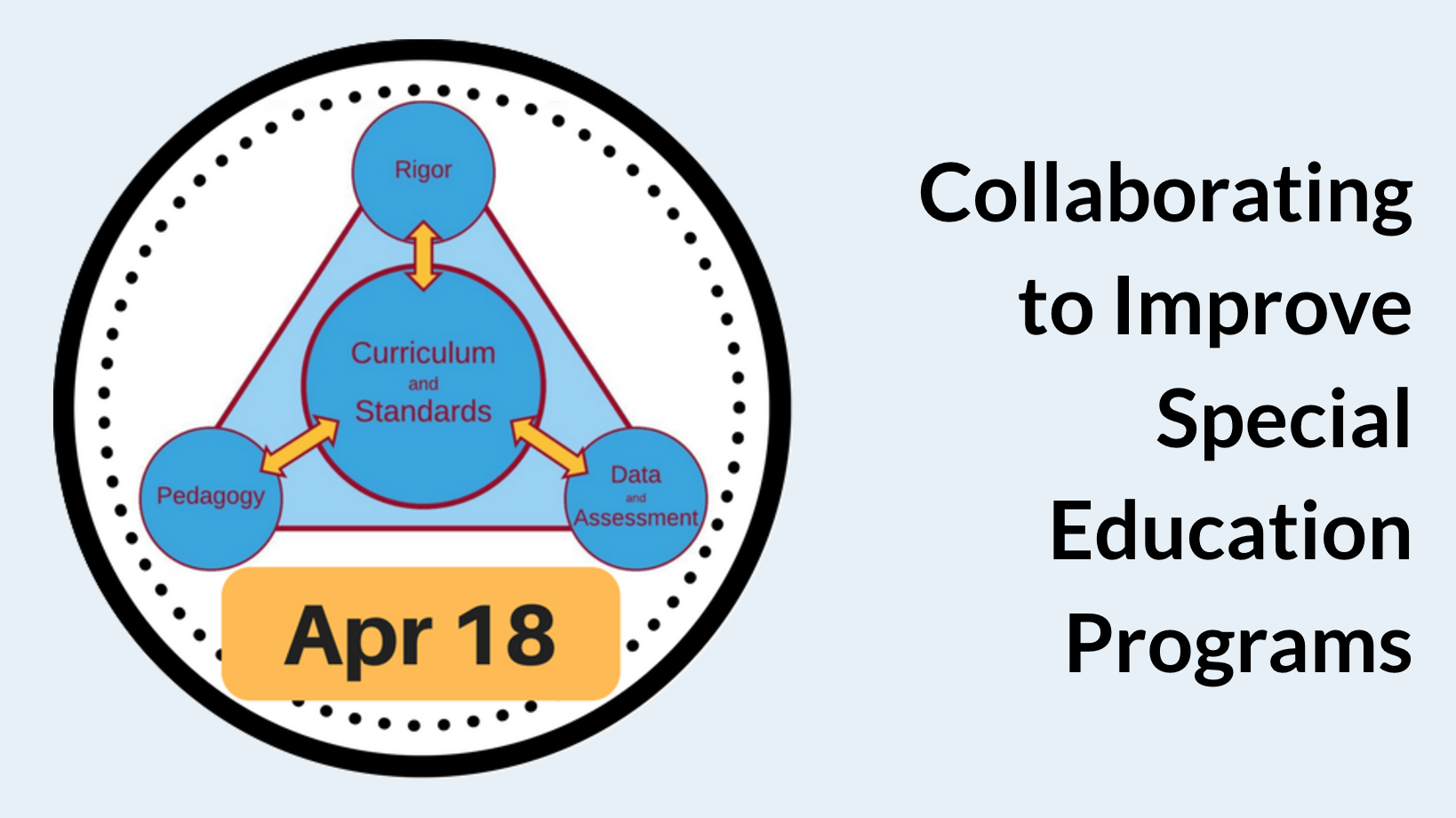 How Can We Improve Special Education >> April 18 Collaborating To Improve Special Education Programs
