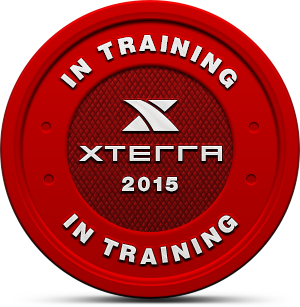 2015 XTERRA In Training Badge