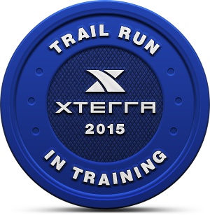2015 XTERRA Trail Run In Training Badge
