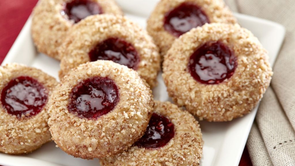 Jam-Filled Thumbprint Cookies