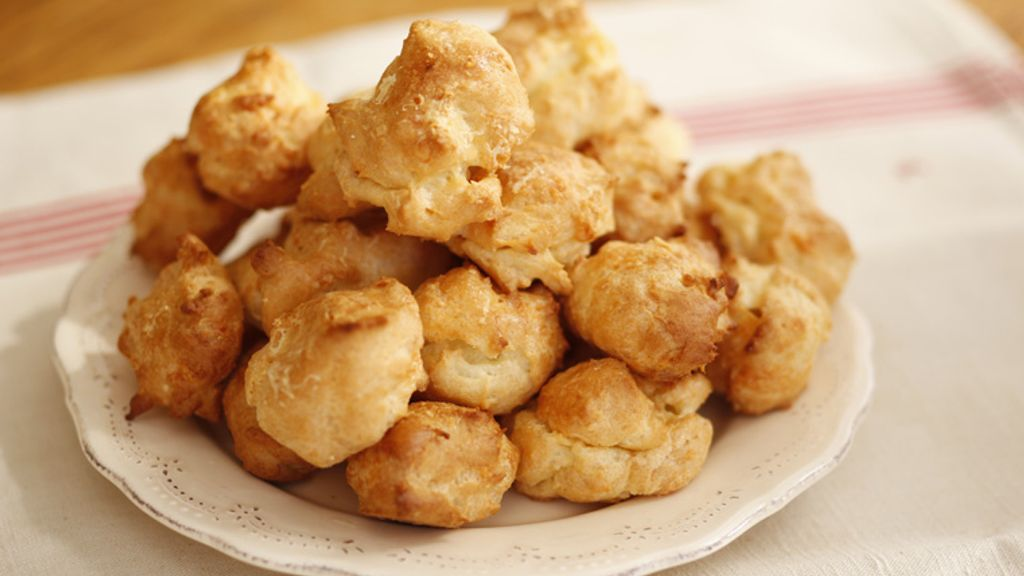 Gougeres with Parmesan Cheese