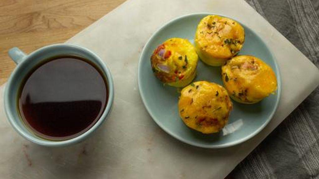 Cheese & Veggie Egg Cups