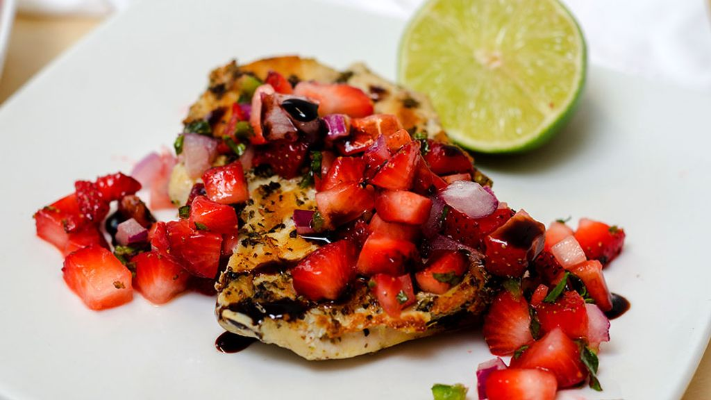Strawberry and Mexican Lime Salsa