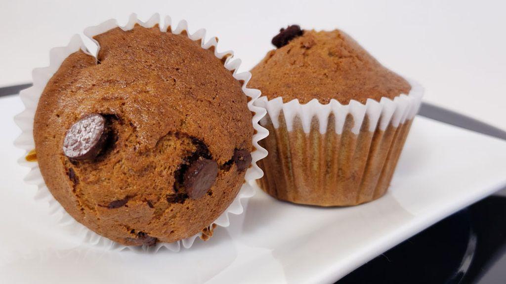 Gluten-Free Banana Chocolate Muffins