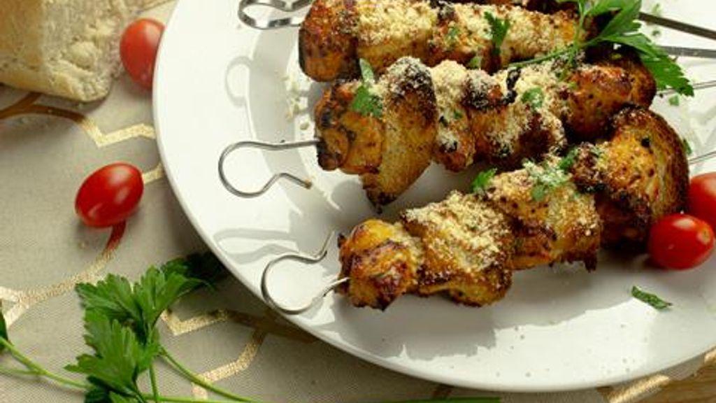 Italian Chicken Skewers