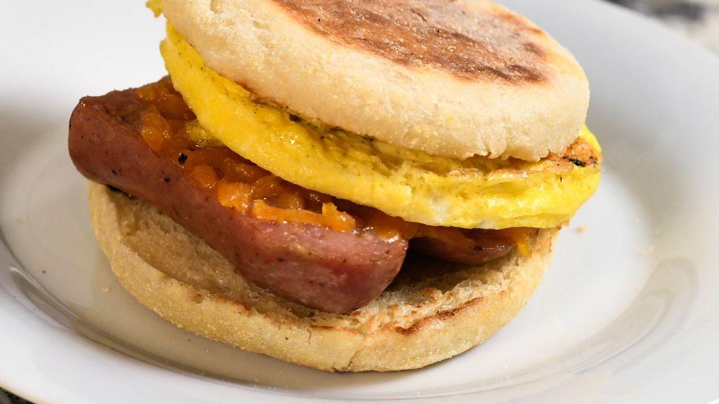 Sausage, Egg & Cheese Breakfast Sandwich