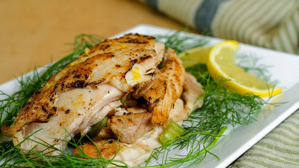Zesty Herb Crema Roasted Chicken