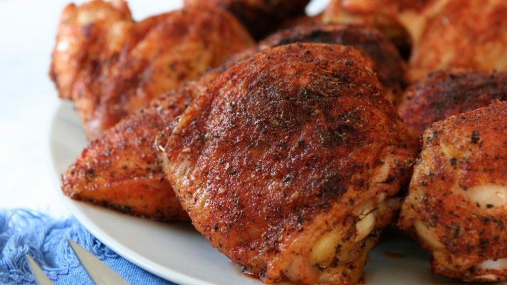 Spice-Rubbed Chicken