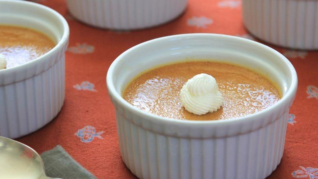 Pumpkin Pot de Crème