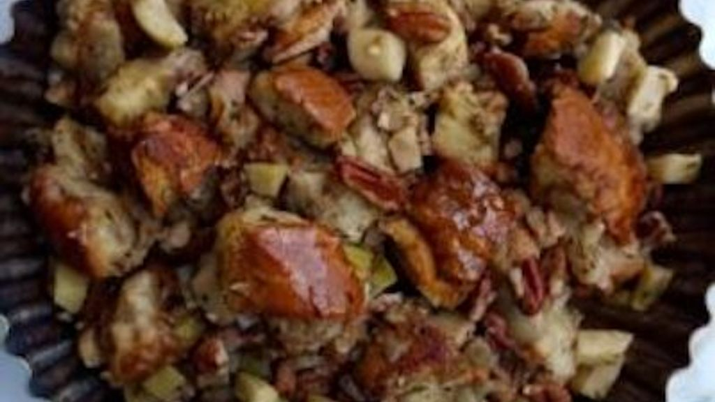 Apple, Pancetta & Pecan Stuffing