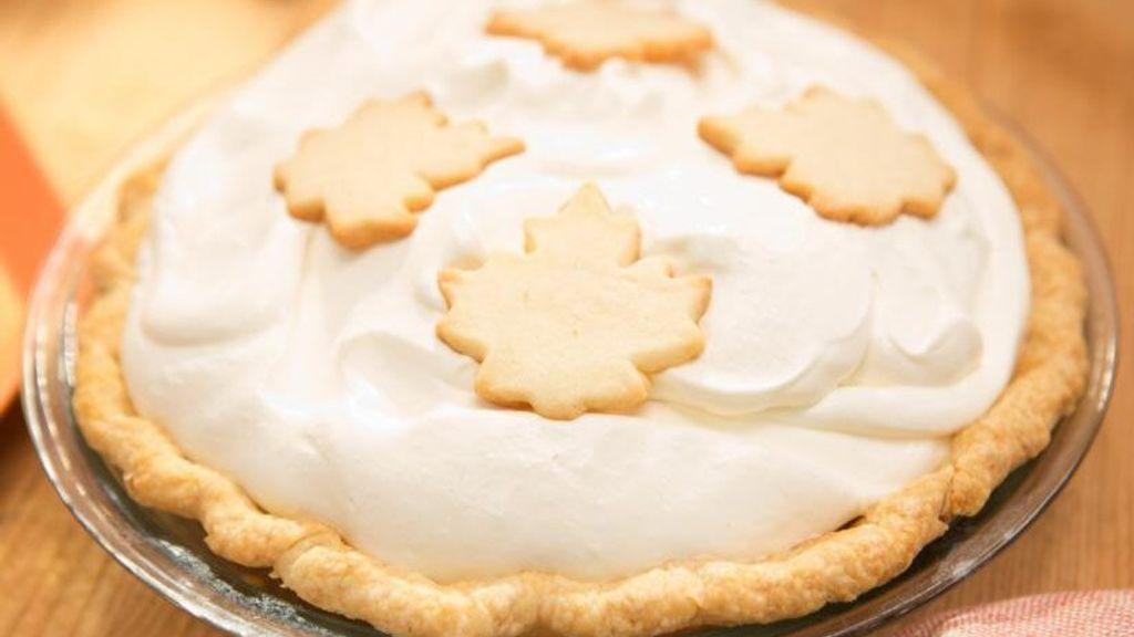 Nutmeg & Maple Cream Pie
