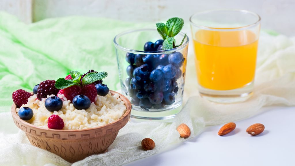 Mango Blueberry Couscous
