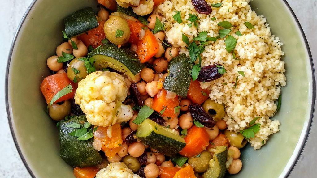 Moroccan Vegetable & Garbanzo Tagine