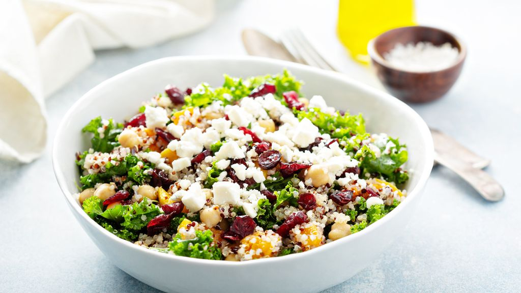 Apple Kale Quinoa Salad