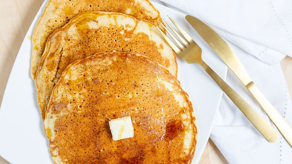 Virgin Buttermilk Pancakes