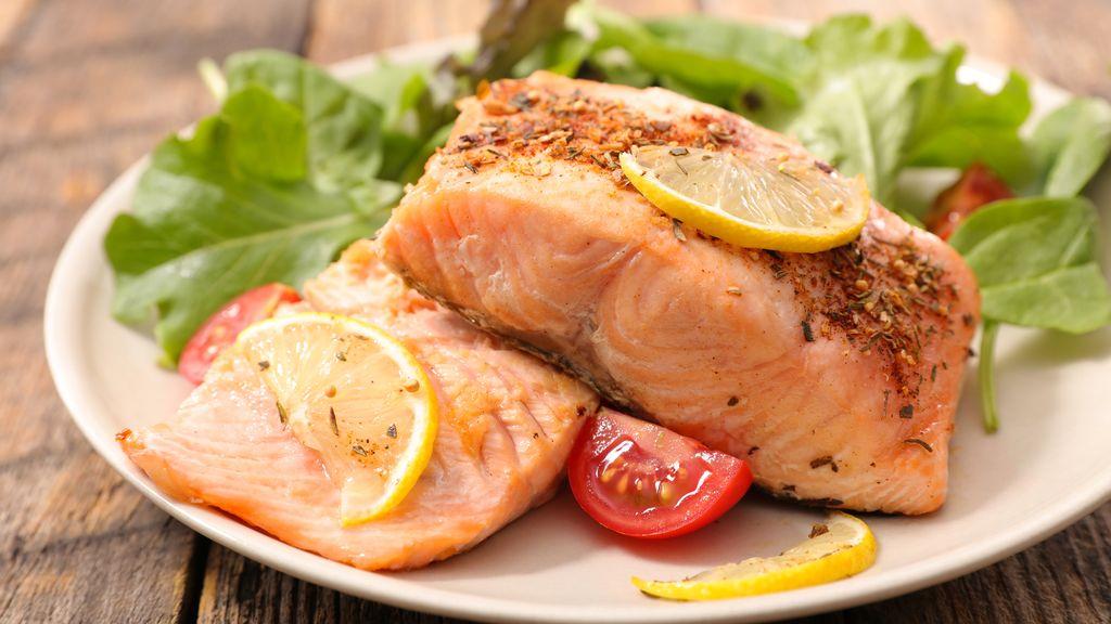 Air Fried Salmon