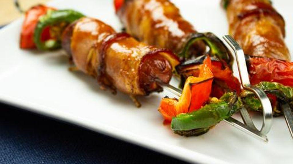 Hot Dog Kebabs