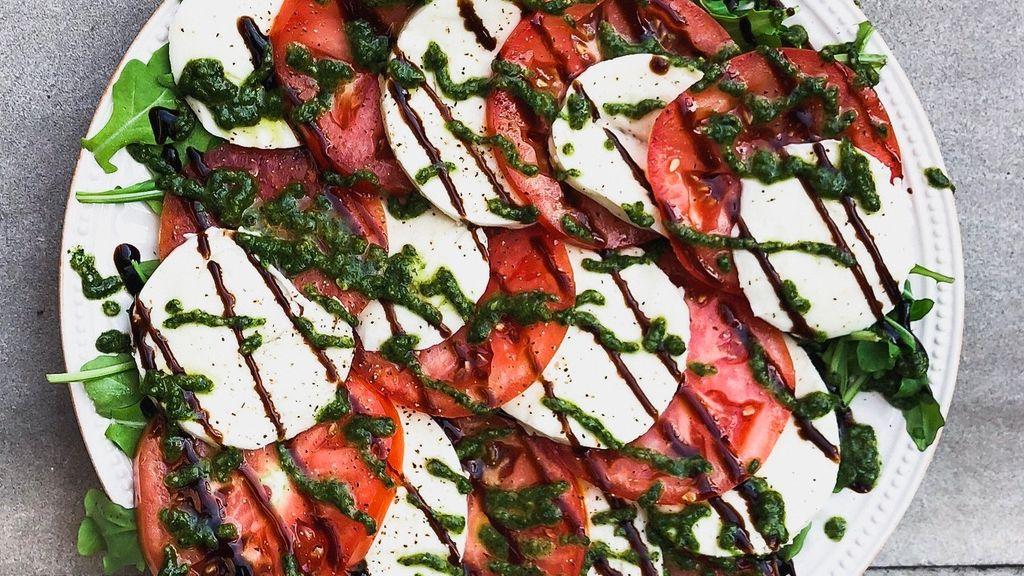 Caprese Salad with Balsamic Glaze