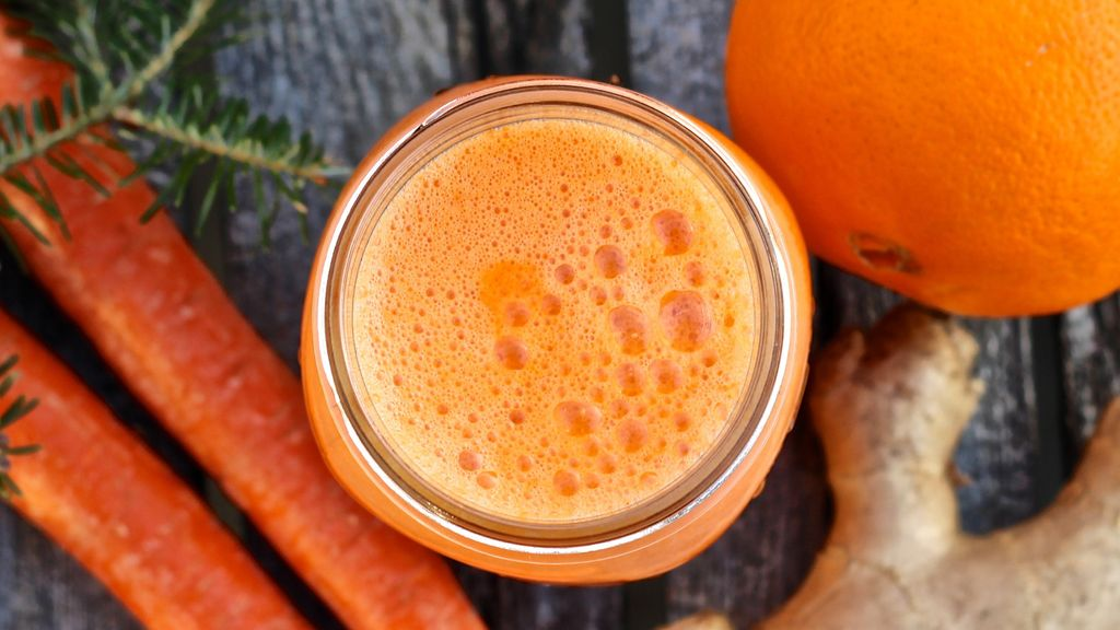 Carrot, Orange & Ginger Kvass