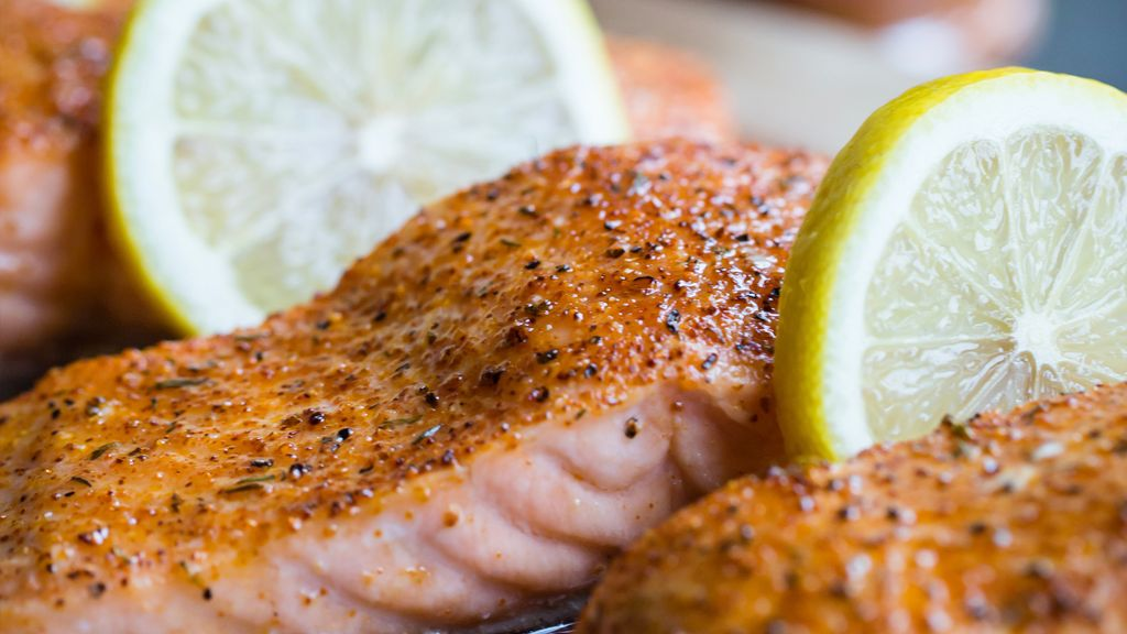 Honey & Rub Salmon