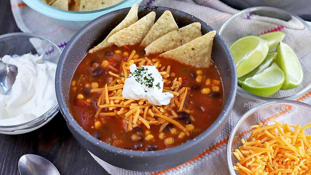Vegan Taco Soup