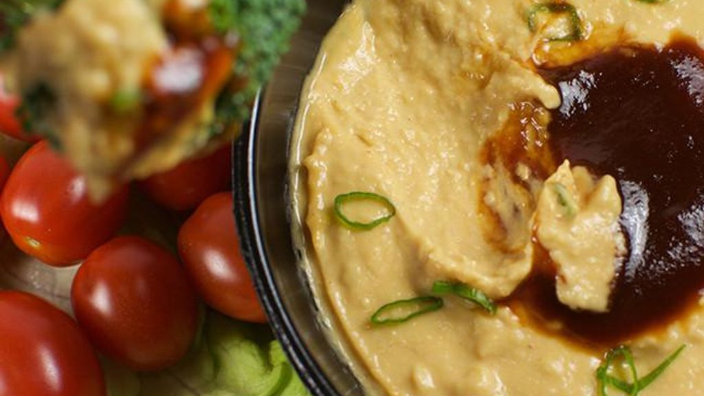 Blazin' Hot BBQ Hummus