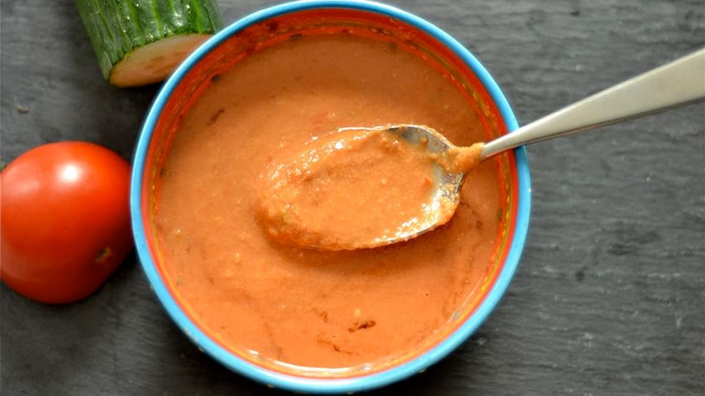 Authentic Spanish Gazpacho