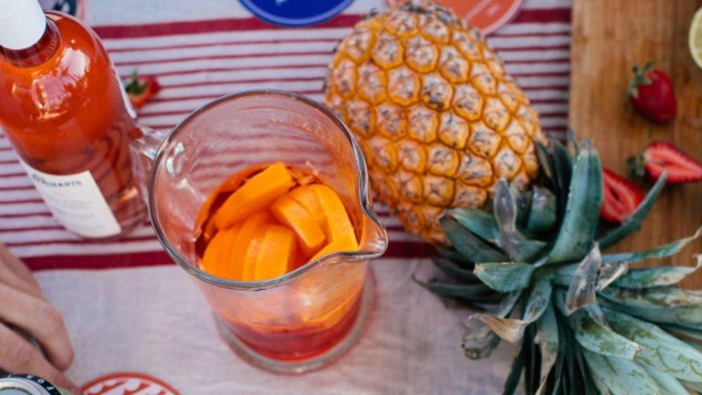 Ginger Orange Tropical Punch
