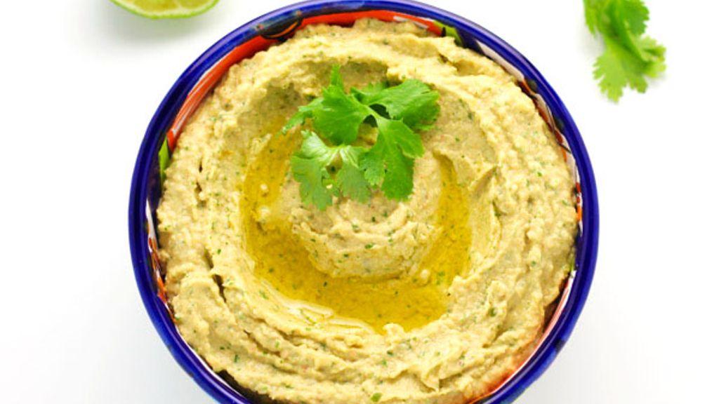 Coriander-Lime Hummus