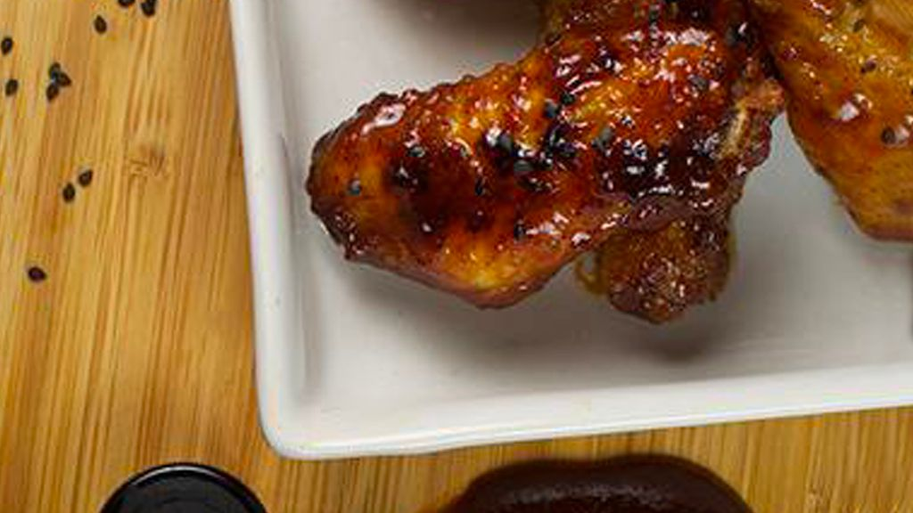 Sticky Whiskey Maple Wings