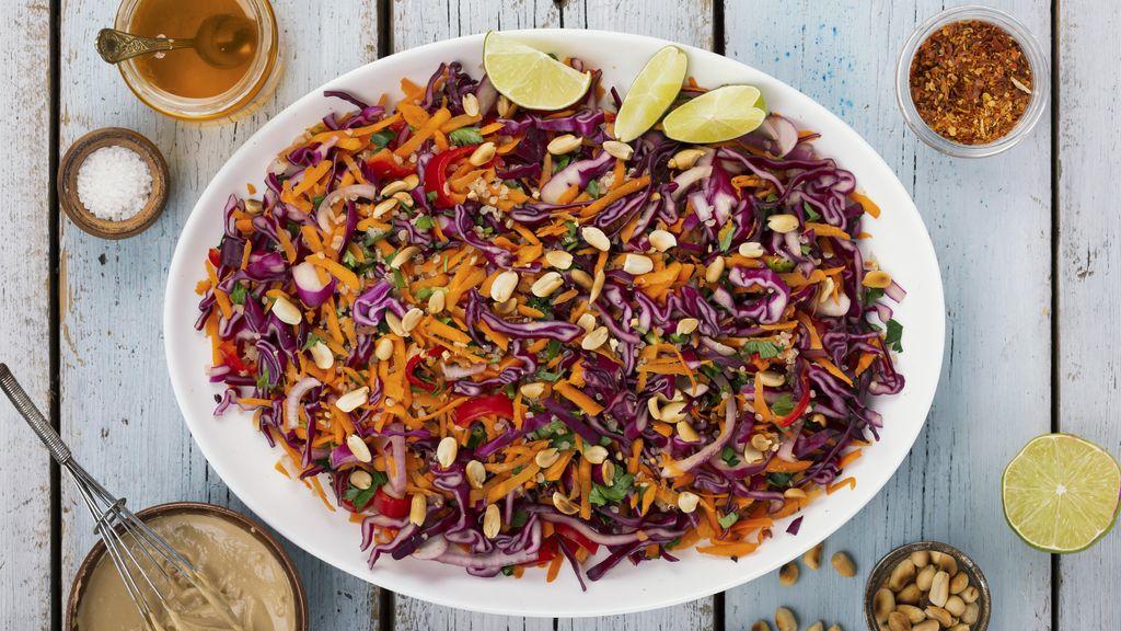 Coconut Curry Quinoa Salad