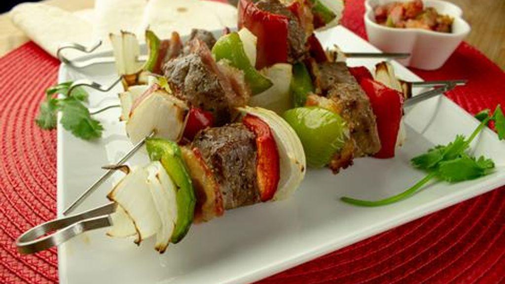 Mexican Beef Kebabs