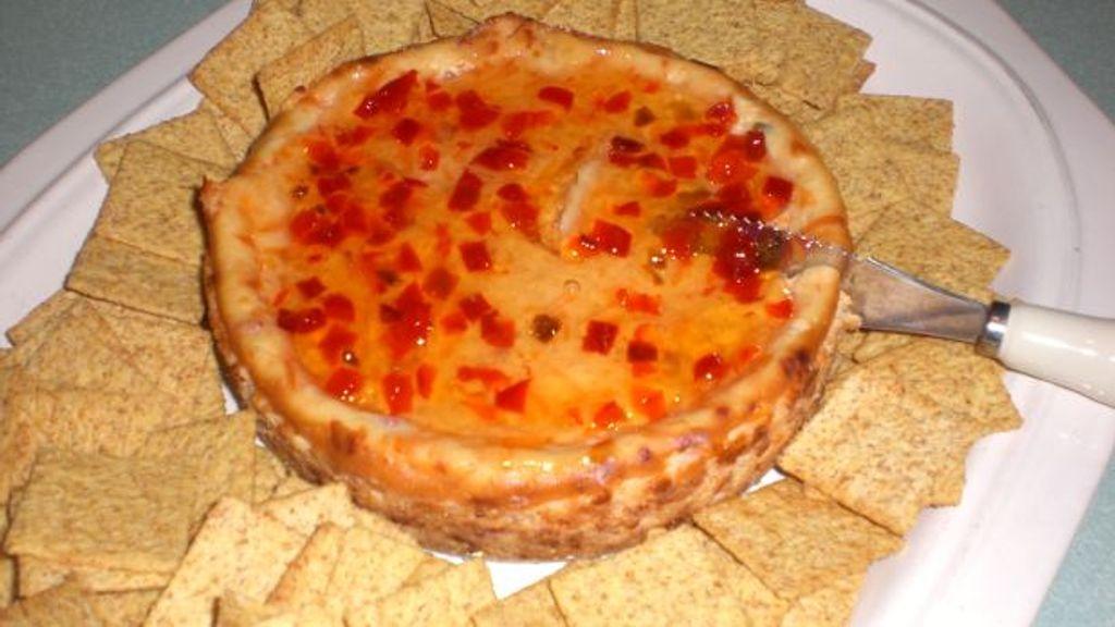 Pepper Jelly Cheesecake