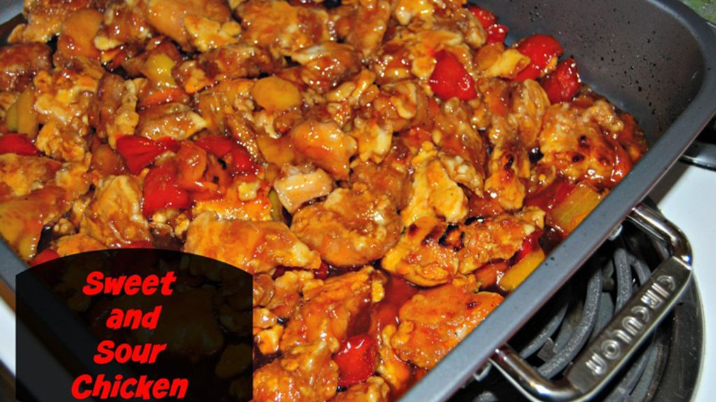 Succulent Sweet and Sour Chicken