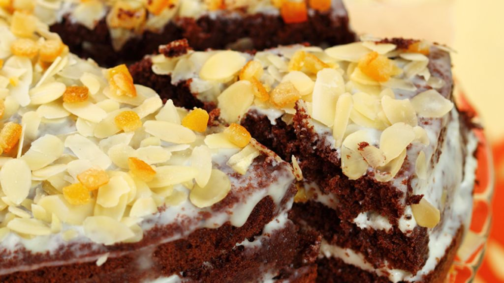 Chocolate Orange Almond Torte