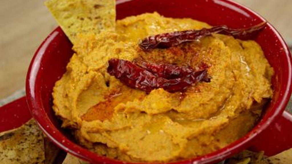 Smoky Pumpkin Hummus