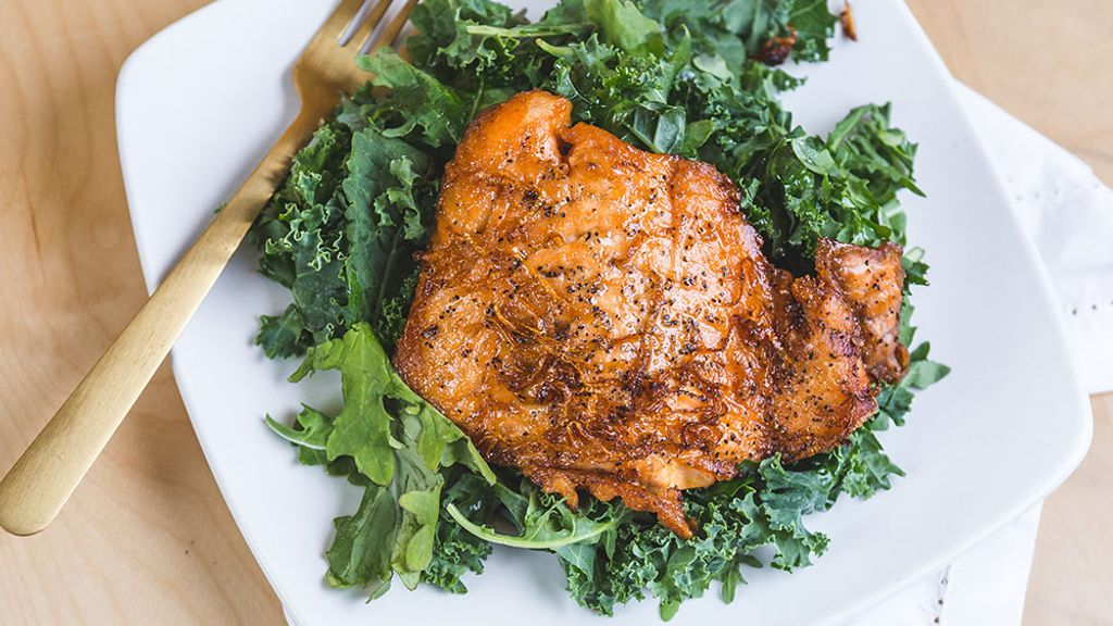 Honey and Rosemary Grilled Salmon