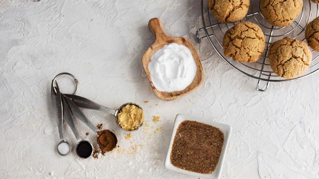 Gluten-Free Ginger Crinkle Cookies