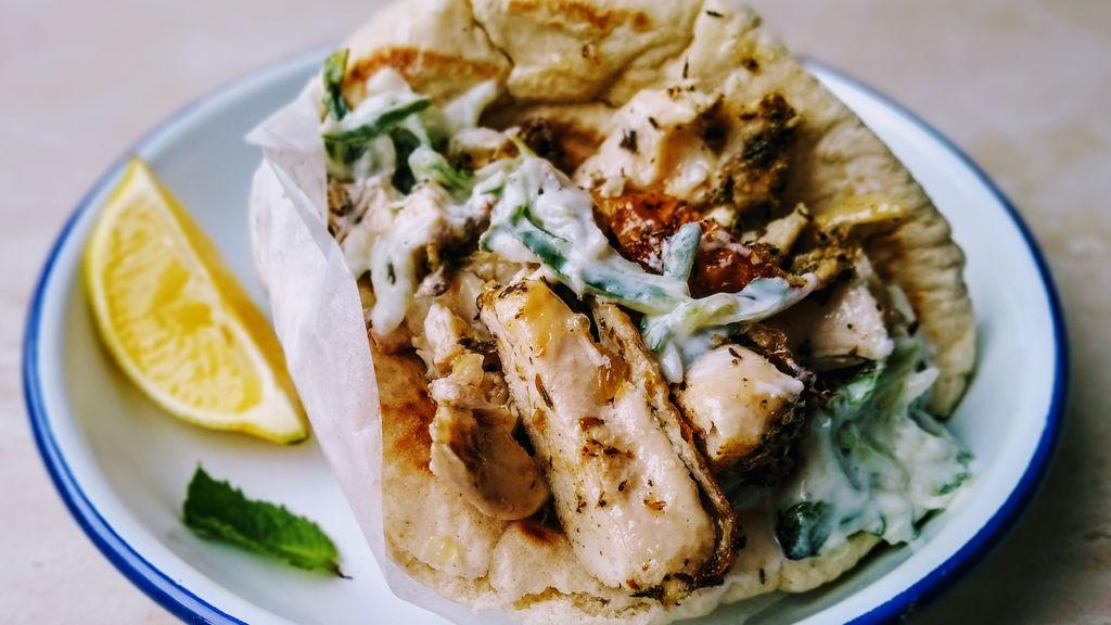 Chicken Gyro / Greek Chicken Wraps