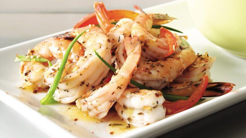 Peppered Garlic Shrimp