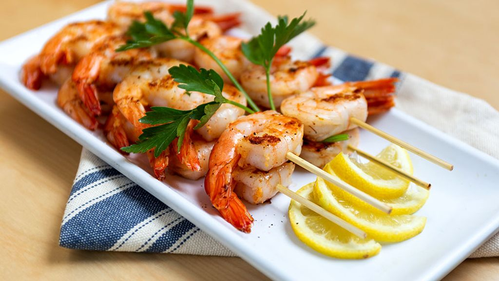 Grilled Paprika Lime Shrimp Kabobs