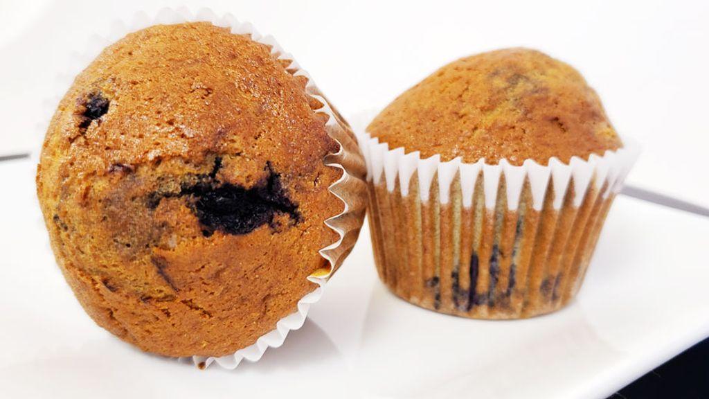 Gluten-Free Blueberry-Banana Muffins