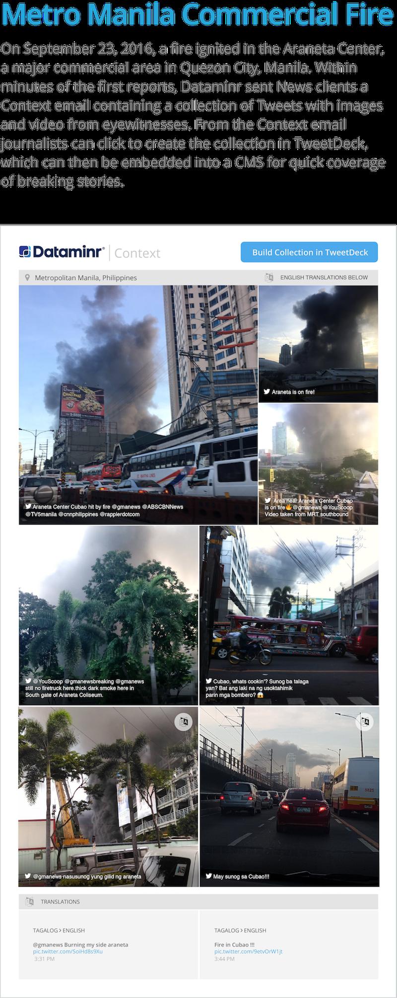 Metro Manila Commercial Fire