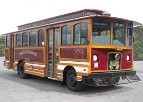 Trolley exterior